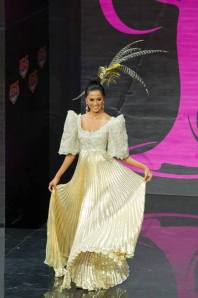 Ariella Arida in National Costume