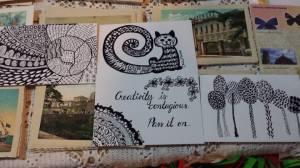 doddle postcard