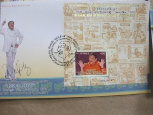 Dolphy FDC with cancellation