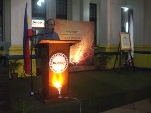 former president Fidel V. Ramos