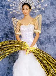 Miriam Quiambao's national costume