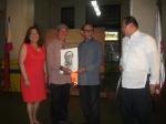 Mr. Nemensio Miranda together with PresidentRamos
