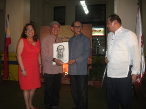Mr. Nemensio Miranda together with President Ramos