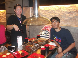 Ms. Cha Sy and Ivan