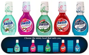 swish mouthwash variants
