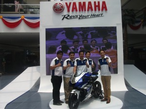 Yamaha Motor Philippines executives