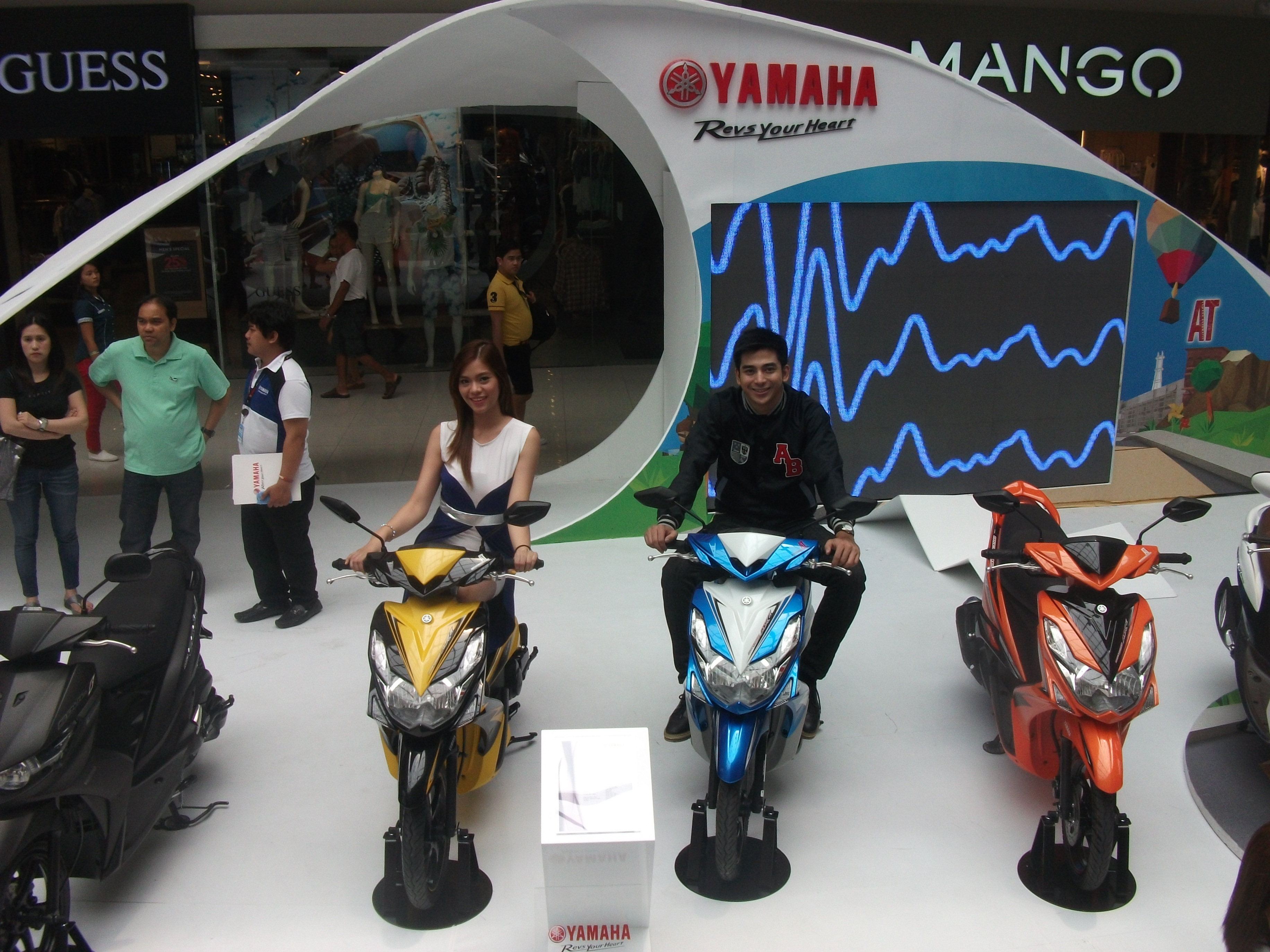 Honda motorcycles philippines website - Yamaha New Products 056 Colorful Motorcycle