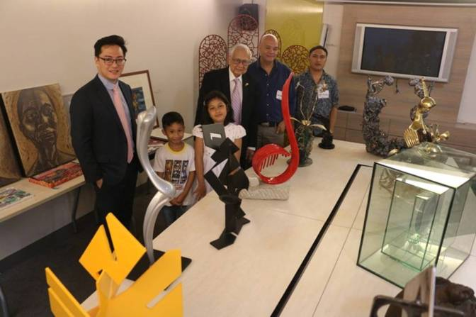 9th Alay Sining Art Exhibit by Rotary Club of Makati