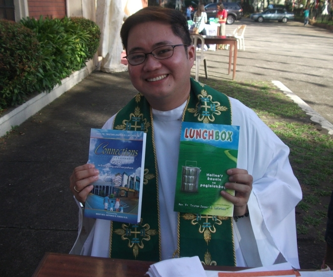 Connections : God in Everything and Everywhere Book by Rev. Father Tristan Jasper D. Laforteza