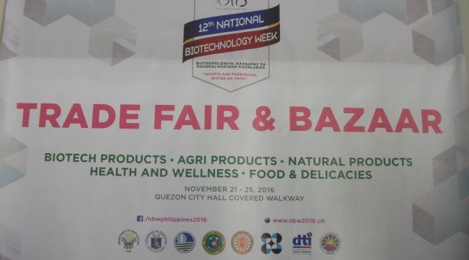 12th National Biotechnology Week Trade Fair and Bazaar at Quezon Cityhall