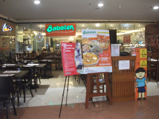 Buffet Dining at Cabalen in SM Megamall