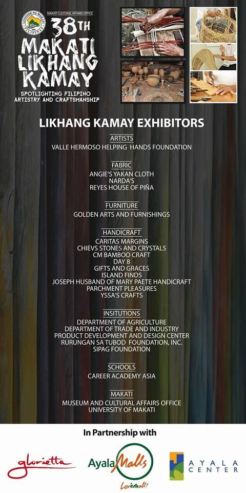 38th Likhang Sining Kamay Exhibit