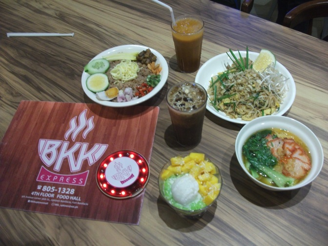 BKK Express : Interesting Dishes and Desserts