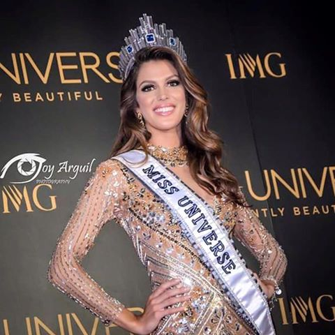 Iris Mittenaere is the New Miss Universe