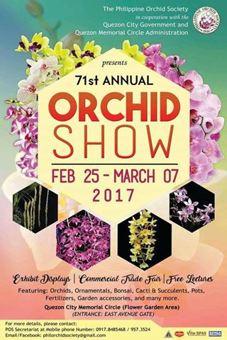 71st Annual Orchid and Garden show by Philippine Orchid Society