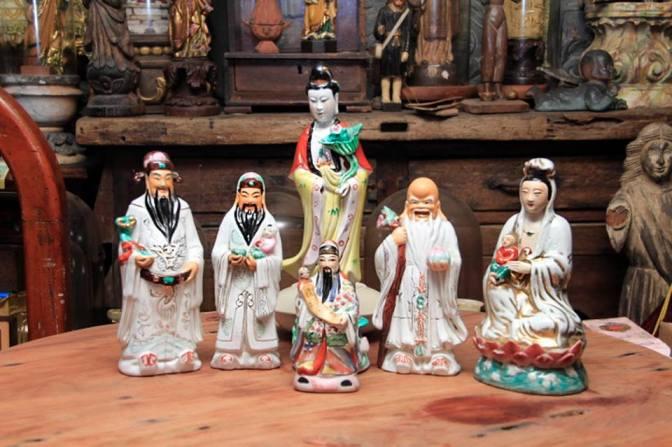Tales of Fu Luk Shou: Three Chinese Deities