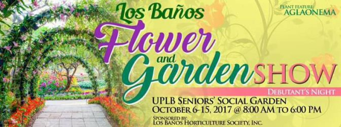 LOS BAÑOS FLOWER & GARDEN SHOW from October 6 to 15, 2017