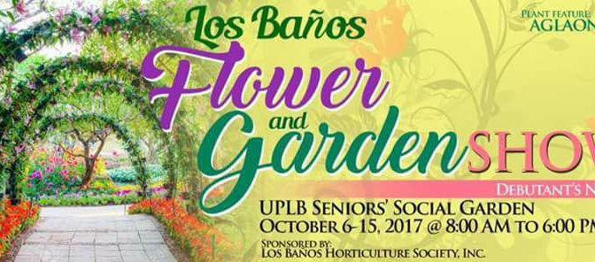 LOS BAÑOS FLOWER & GARDEN SHOW from October 6 to 15, 2017