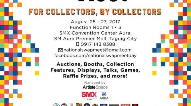 National Swap Meet at SM Aura, Taguig