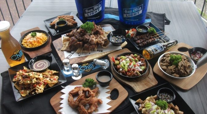 Exciting Dishes and Venue Place at Chilltop, Circulo Verde