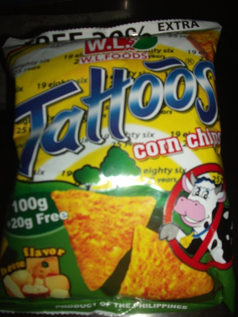 Tattoos Corn Chip