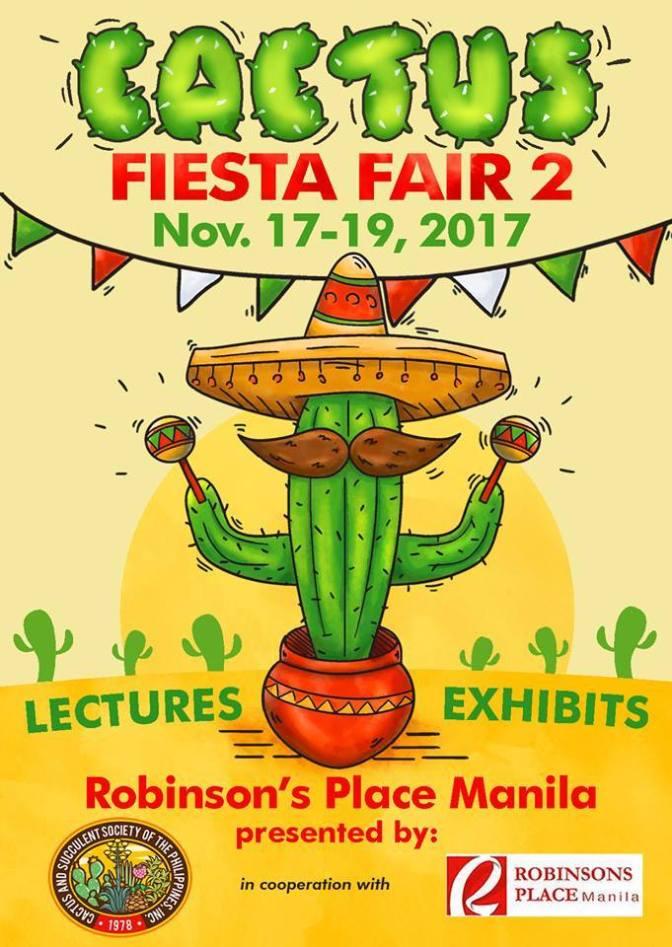 Cactus Fiesta Fair 2 at Robinson's Place , Manila
