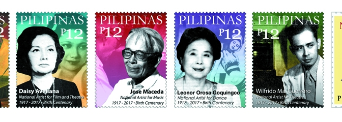 Birth centenary of national artists featured on Philippine stamps