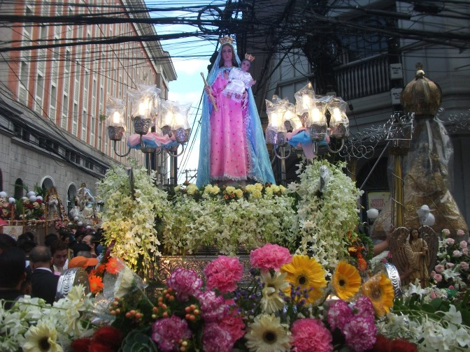 Maria Auxiliadora de Marawi at the 38th Annual Grand Marian Procession