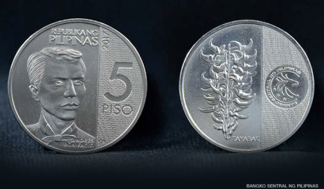 5 peso commemorative coin
