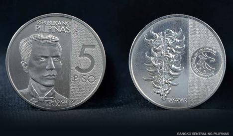 5 peso commemorative coin