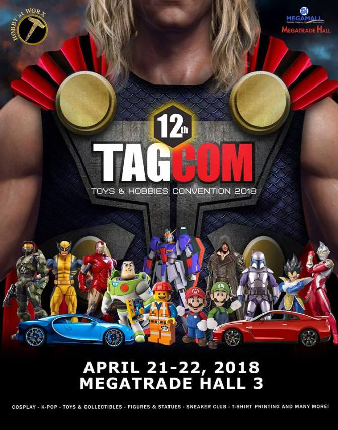 Exciting toys and features at 12th TAGCOM
