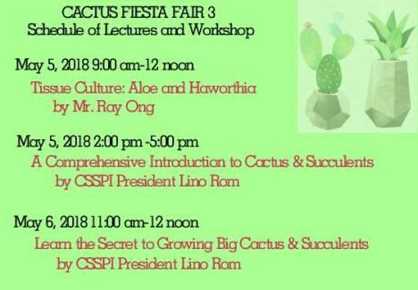 cactus lecture