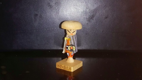 Miniature Samurai Ningyo Figurine.JPG