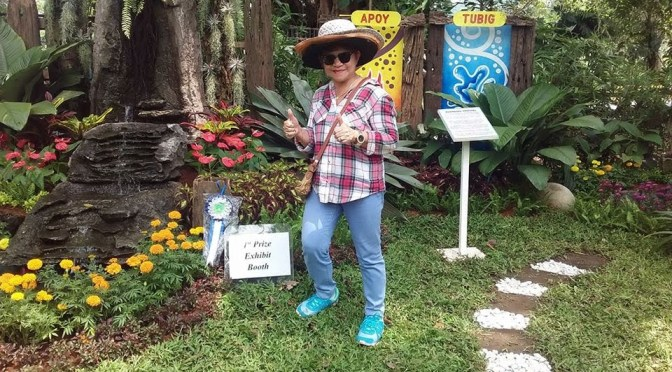 Stunning Landscape Exhibits at the Los Baños Horticultural Society 2018