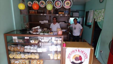 Dolor's Kakanin stall at Goodwill Homes 1