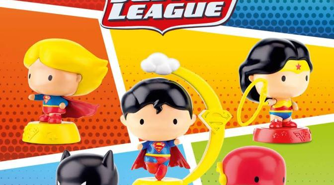 5 Piece Justice League Characters Kiddie Meal Toy from Jollibee