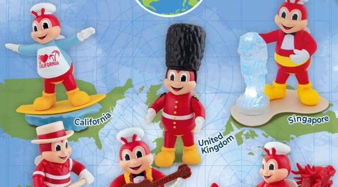 Around the World Toys Series 2 from Jollibee