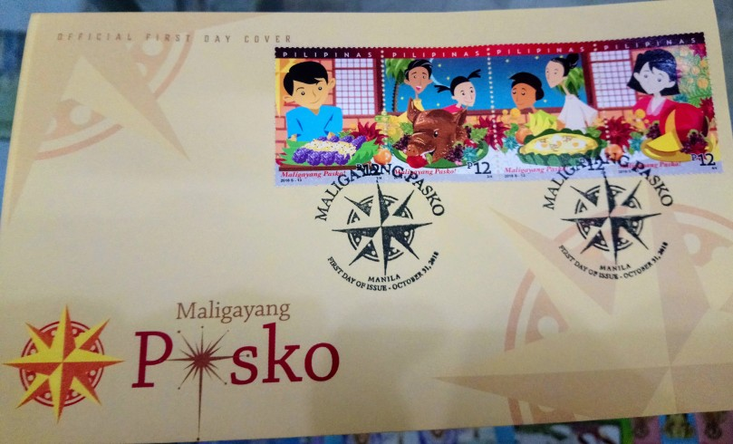 pasko-2018-first-day-cover