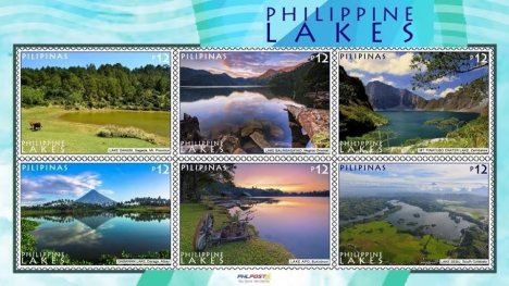 philippine-lakes-on-stamps
