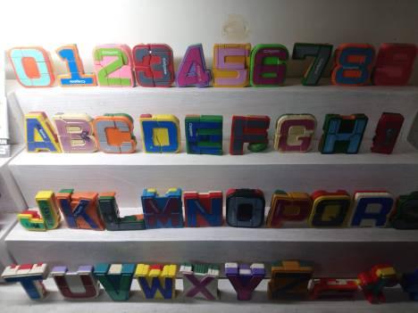 Alphabet-robot