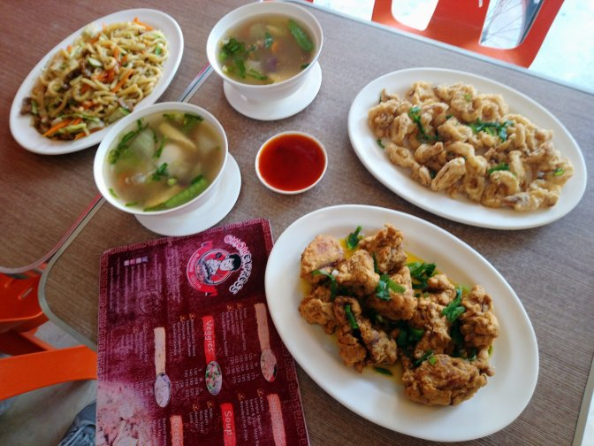 Filipino-Chinese Dishes at Chiow Express in Mandaluyong City
