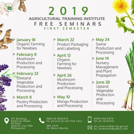 Agriculture-Seminar-2019
