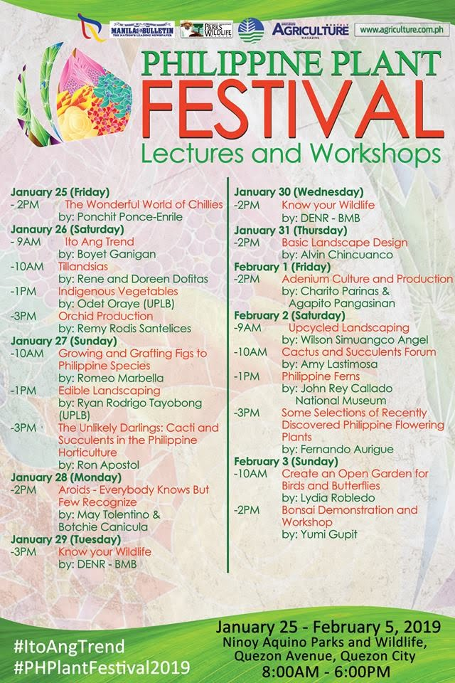 Philippine-Plant-Festival-schedule-lectures