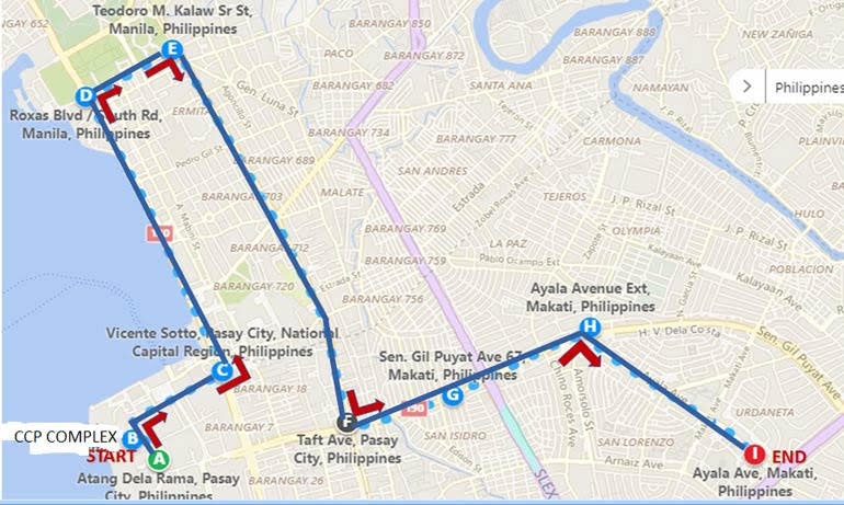 catriona-gray-parade-route