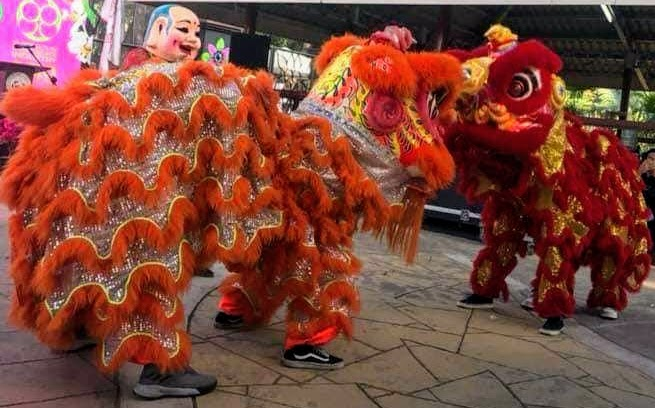 lion-dancers