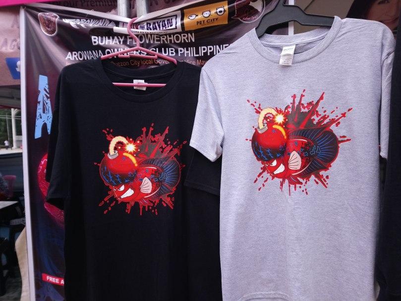buhay-flowerhorn-t-shirts