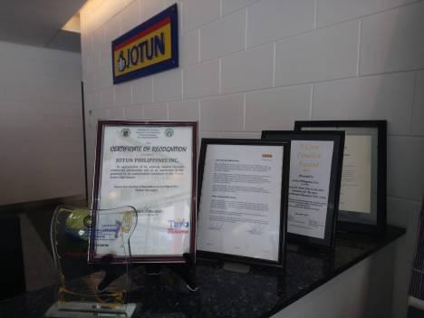 jotun-certificate