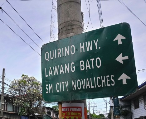 quirini-highway-and-lawang-bato-signage